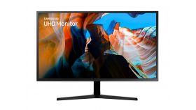 "Monitor Samsung U32J590U 31.5"" LED, Ultra HD (3840x2160), Brightness: 270cd/m2, Contrast: 3000:1, Response time: 4ms, Viewing Angle: 178°/178° , 2xHDMI, DP, Dark Blue Grey"