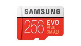 SAMSUNG EVO Plus 256GB microSD with adapter