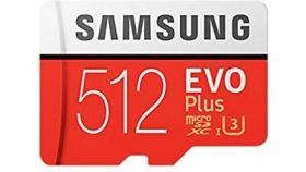 SAMSUNG EVO Plus 512GB microSD with adapter