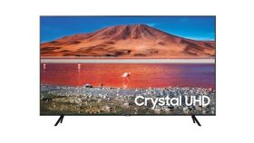 "Samsung Smart TV 75"" 75TU7072 4k UHD LED, 3840 x 2160, 2000 PQI, HDR 10+, Dolby Digital Plus, DVB-T2CS2, PIP, 2xHDMI, 1xUSB, LAN, Wireless, Bluetooth, Black"