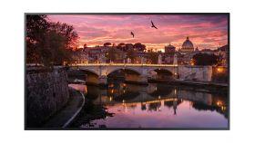 "Samsung LFD QB55R , 55"" professional display , 4k UHD 3840x2160 (16:9) 16/7, Contrast: 4000:1, Viewing Angle: 178/178, Brightness: 350 cd/m2, Video: 2xHDMI, DVI-D, HDCP2.2, 2xUSB, Audio: Stereo Mini Jack"