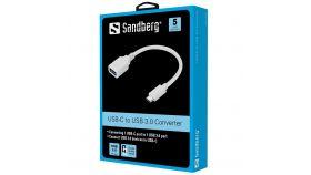 SANDBERG SNB-136-05 :: Конверторен кабел USB-C към USB 3.0
