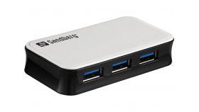 SANDBERG SNB-133-72 :: USB 3.0 Hub Sandberg, 4 порта