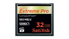SanDisk Extreme Pro CF 160MB/s 32 GB VPG 65, UDMA 7; EAN: 619659102432