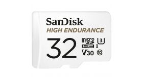 SANDISK 32GB MAX ENDURANCE microSDHC Card with Adapter