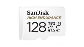 SANDISK 128GB MAX ENDURANCE microSDHC Card with Adapter