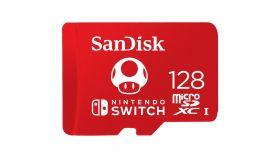 SANDISK 128GB microSDXC UHS-I Card for Nintendo Switch