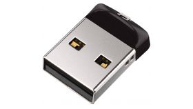 SANDISK Cruzer Fit USB Flash Drive 16GB, 2.0