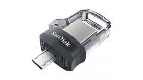 SANDISK 32GB ULTRA DUAL DRIVE M3.0 micro-USB and USB 3.0 connectors