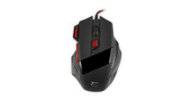 WHITE SHARK GM-1606BL :: Геймърска мишка Marcus, 4800dpi, черна