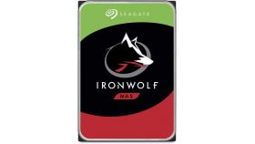 SEAGATE NAS HDD 3TB IronWolf 5900rpm 6Gb/s SATA 64MB cache 3.5inch 24x7 CMR for NAS and RAID rackmount systemes BLK single pack
