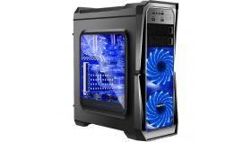 Кутия за настолен компютър Segotep Gank II Black