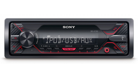 Sony DSX-A210UI In-car Media Receiver with USB, Red illumination