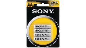 Sony Zinc R03 ZnCl 4pcs blister AAA