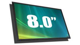 """8.0"""" CLAA080UA01 LED Матрица / Дисплей за лаптоп UWXGA гланц  /62080002-G080-1/"""