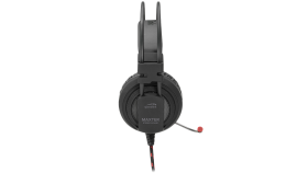 Speedlink MAXTER Stereo Headset - for PS4, Padded circumaural earcups,Connection: 1 ? 4-pole 3.5mm jack plug, microphone, Cable:1.2m, black