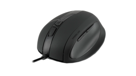 Speedlink OBSIDIA Ergonomic Mouse, 5 button, Ergonomic design for right-handed use, adjustable resolution from 800 to 3,200dpi, 2D scroll wheel with precise notches, Cable: 180cm, black