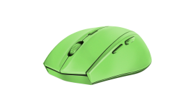 Speedlink CALADO Silent Mouse - Wireless USB, 5 -button, range of up to 8m, 1,600dpi optical sensor, ergonomic, rubber, green