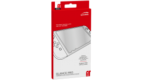Speedlink GLANCE PRO Tempered Glass Protection Kit - for Nintendo Switch, Crystal-clear transparency, Includes microfibre cleaning cloth and dust absorber, 3 colours for Joy-Con® customisation