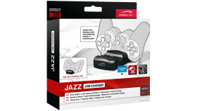 Speedlink JAZZ USB Charger - for PS3, charge via the console or any USB port, Cable: 1m, black