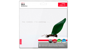 Speedlink SILK Mousepad, Anti-static, Non-slip backing, 23cm long x 19cm wide x 0.15cm thick, Ant