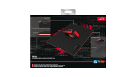 Speedlink FIERIS Illuminated Gaming Mousepad, 35.5cm long, 25.5cm wide, 0.4cm thick, USB cable included (150cm)