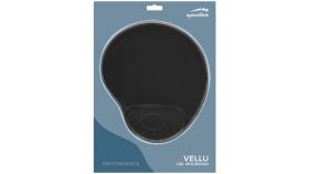 Speedlink VELLU Gel Mousepad, extremely soft covering, black