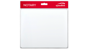 Speedlink NOTARY Soft Touch Mousepad, white