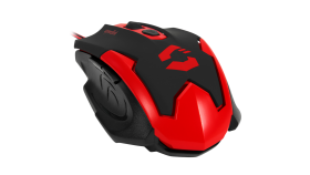 Speedlink XITO Gaming Mouse,5 buttons,Sensor resolution: 3200dpi,dpi switch, Cable:1.5m, black-red