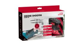 Speedlink DRONE SHOOTER Game Set,Helicopter drone with shooter gun,Twin rotor,Flight time:max.5 mins,Battery:Li-polymer,3.7V,75mAh,WL range:5m,Shooter gun with 3 soft darts,Shooting range:max.6m,black