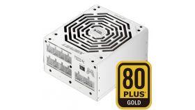 Super Flower Leadex 850W 80 Plus Gold, 90+ efficiency, LED connectors, Full Cable Management, WHITE, 5y warranty