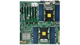 Supermicro X11DPi-N Motherboard Dual Socket P (LGA 3647) supported, CPU TDP support 205W, 2 UPI up to 10.4 GT/s - Bulk