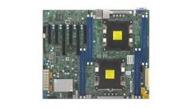 Supermicro X11DPL-i Motherboard Dual Socket P (LGA 3647) supported, CPU TDP support Up to 140W, 2 UPI up to 10.4 GT/s