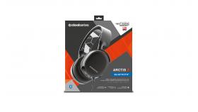 Геймърски слушалки SteelSeries, Arctis 3 Bluetooth Black 2019 Edition, Микрофон, Черно