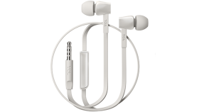 TCL In-ear Wired Headset, Strong Bass, Frequency of response: 10-22K, Sensitivity: 107 dB, Driver Size: 8.6mm, Impedence: 16 Ohm, Acoustic system: closed, Max power input: 20mW, Connectivity type: 3.5mm jack, Color Ash White