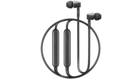 TCL In-ear Bluetooth Headset, Strong Bass, Frequency of response: 10-22K, Sensitivity: 107 dB, Driver Size: 8.6mm, Impedence: 16 Ohm, Acoustic system: closed, Max power input: 20mW, Connectivity type: Bluetooth only (BT 5.0), Color Shadow Black