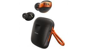 TCL In-Ear True Wireless Bluetooth Headset, Frequency of response 10-22K, Sensitivity 100 dB, Driver Size 6mm, Impedence 14 Ohm, Max power 20mW, Wireless Charging, Playtime 6.5h/33h, IPX5, Bluetooth 5.0, A2DP, AVRCP, HFP,HSP, USB-C, Color Copper Dust