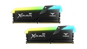 Памет Team Group T-FORCE XCALIBUR RGB DDR4, 16GB(2x8GB), 3600 MHz CL18-20-20-44, 1.35V