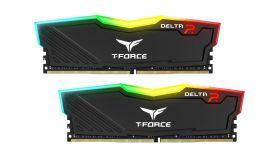 Памет Team Group Delta RGB Black DDR4 - 16GB (2x8GB) 2666MHz CL15-17-17-35 1.2V