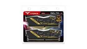 Памет Team Group Delta RGB TUF DDR4 - 16GB(2x8GB) 3200MHz, CL16-18-18-38 1.35V