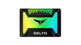 Solid State Drive (SSD) Team Group T-Force Delta RGB 250GB Black
