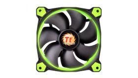 Вентилатор Thermaltake Riing 120x120x25 12v, 1500 RPM, LED GREEN