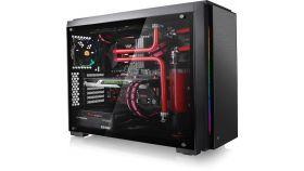 Кутия за настолен компютър Thermaltake Versa C23 RGB Tempered Glass