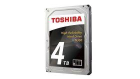 Хард диск TOSHIBA N300, 4TB, 7200rpm, 128MB, SATA 3, HDWQ140UZSVA