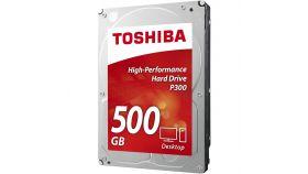 Хард диск TOSHIBA P300, 500GB, 7200rpm, 64MB, SATA 3, HDWD105UZSVA