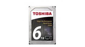 Хард диск TOSHIBA X300, 6TB, 7200rpm, 128MB, SATA 3, HDWE160UZSVA