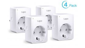 Wi-Fi Smart мини контакт TP-Link Tapo P100 (4-pack)