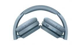 PHILIPS Wireless On Ear Headphone with mic 32mm drivers/closed-back blue