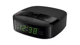 PHILIPS Radio Ararm Clock black