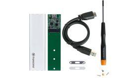 TRANSCEND case for SSD M.2 2280/2260 SATA Transcend USB 3.1 M.2 SSD upgrade kit no support for PCIe M.2